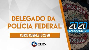 CURSO COMPLETO PARA DELEGADO DA POLÍCIA FEDERAL – 2020