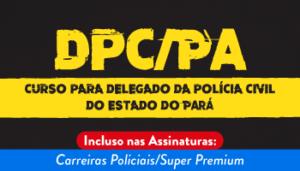 curso delegado concurso PC PA